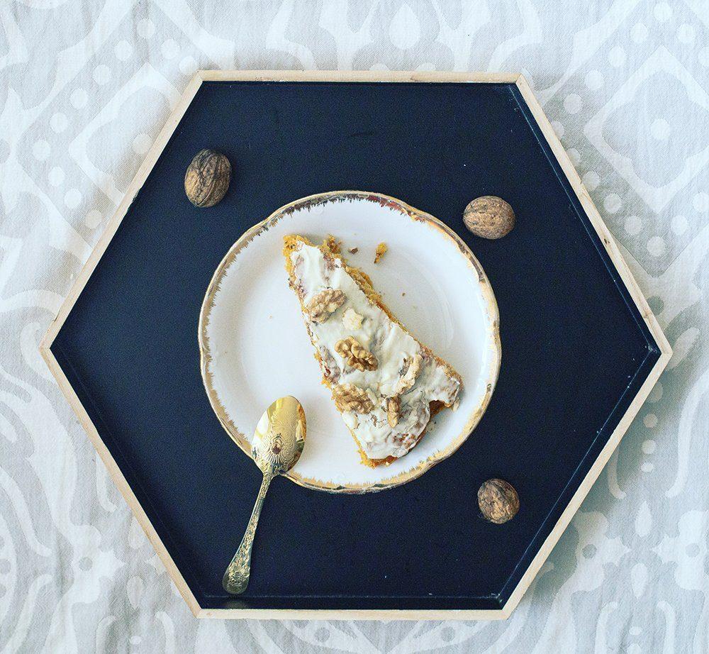 Ciasto marchewkowe z miodem