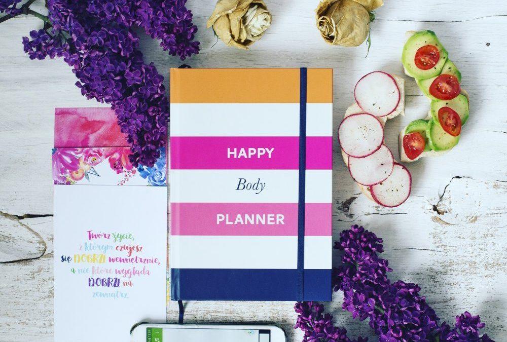 Daj sobie więcej czasu czyli moje wrażenia z prowadzenia Happy Body Plannera 1