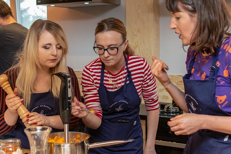 Warsztaty kulinarne w Domowej Spiżarni – Studio Kulinarnym! Czyli jak złamałam dietę dla dań zwyciężczyni polskiego Masterchefa.