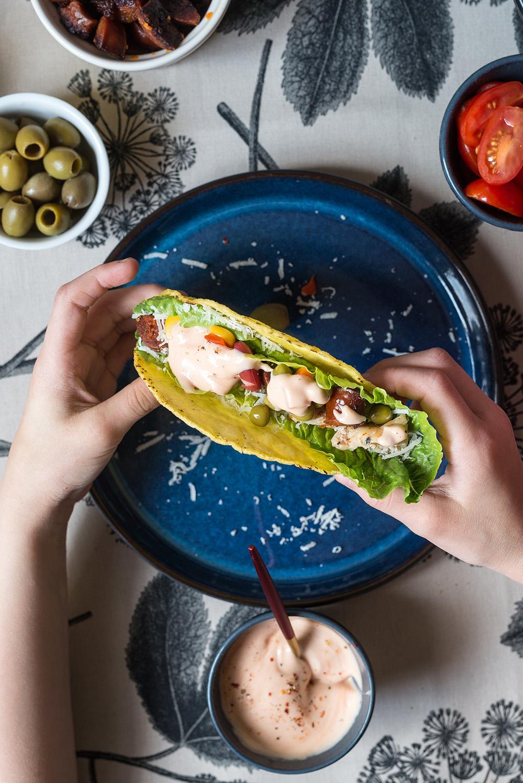 Przekąski w stylu meksykańskim - tacos idealne na domówkę!