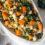 Jesienna sałatka z pieczoną dynią, jarmużem i hallumi