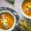 Zupa krem z marchewki z imbirem i selerem naciowym