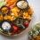 Zdrowa przekąska na imprezę dla osób na diecie