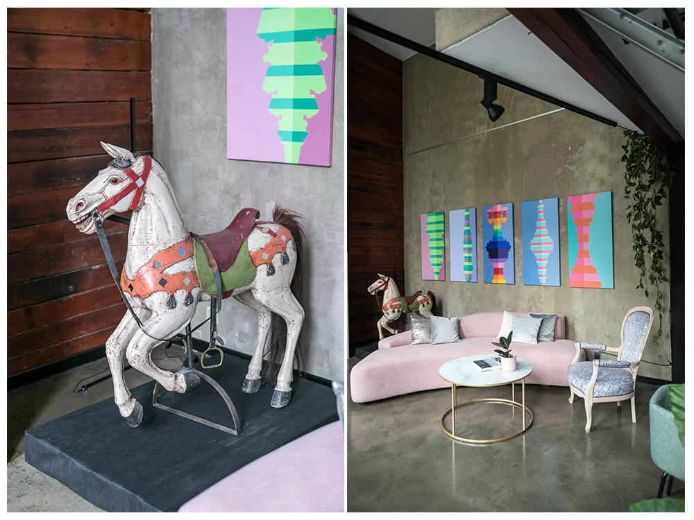 Pokojowo -showroom, galeria i biuro projektowe w jednym.